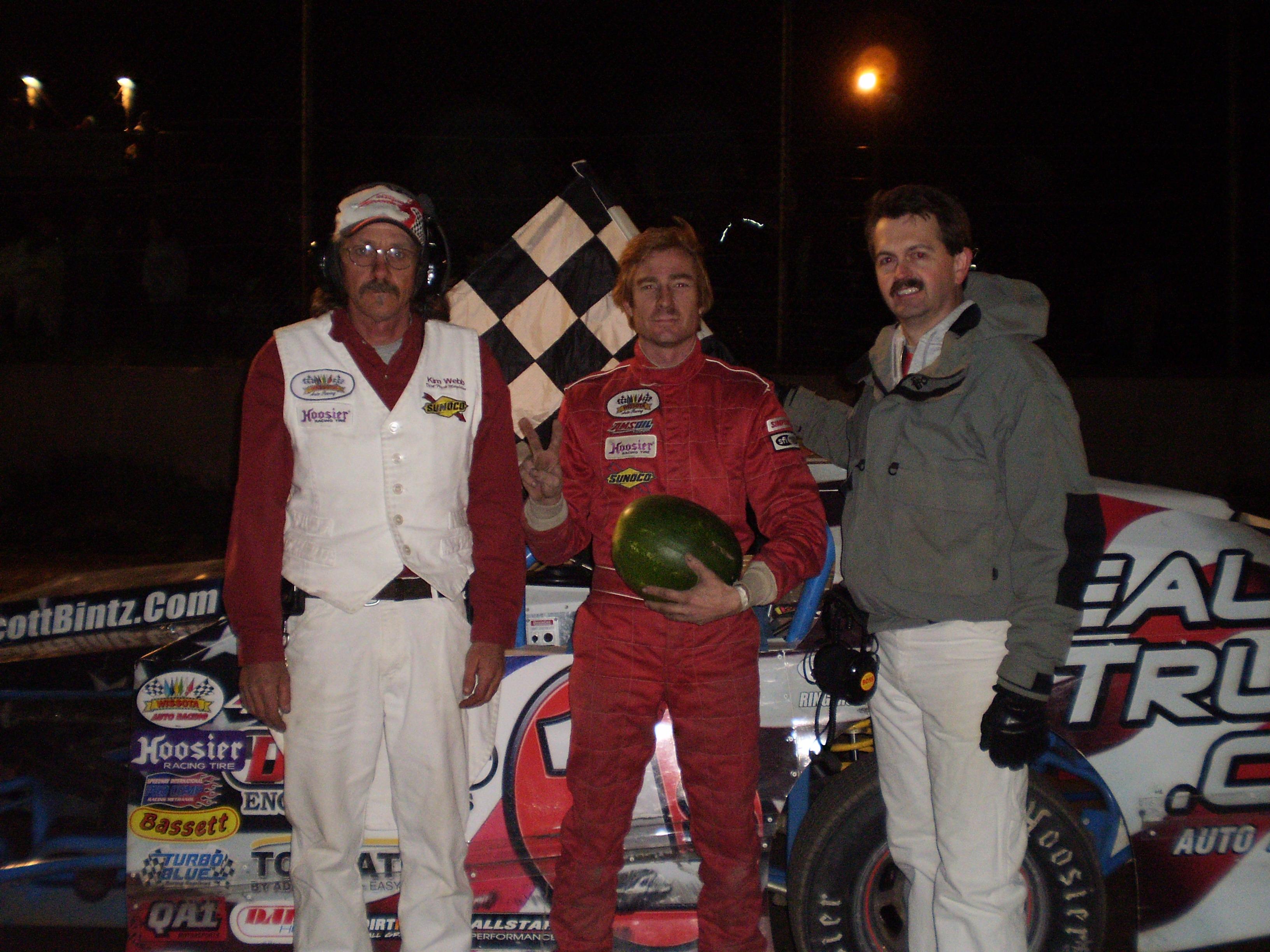 Watermelon Winner at Miller Speedway