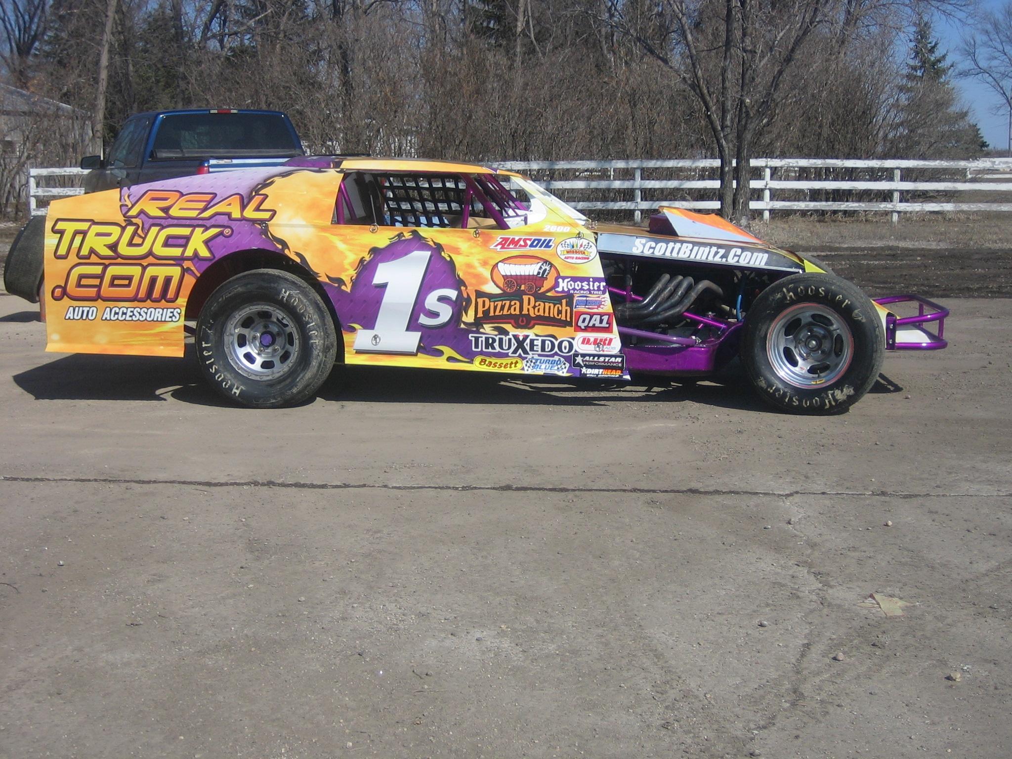 2009 Scott Bintz Race Car is Back