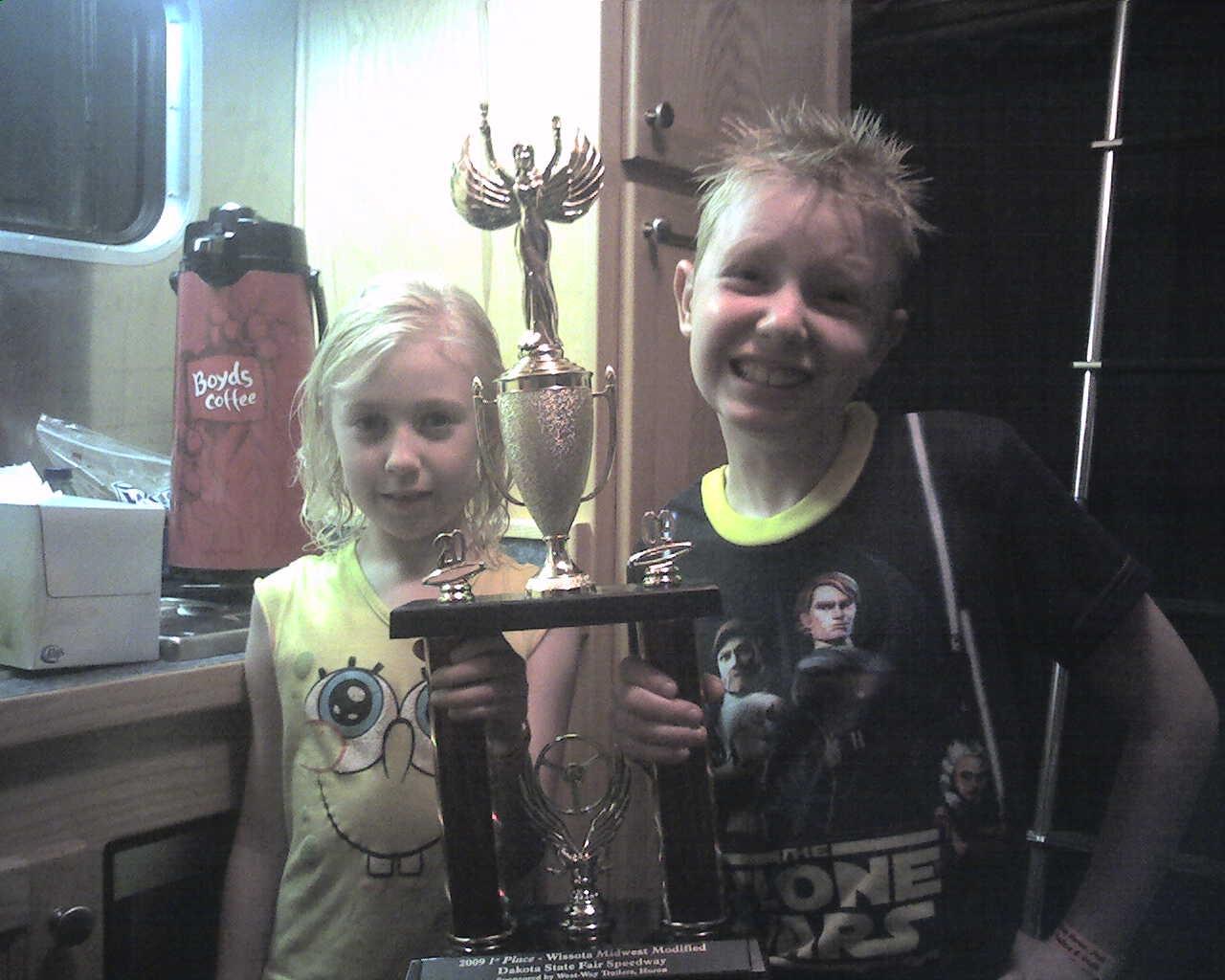 Feature Winner 8-1-09 @ Dakota State Fair Speedway