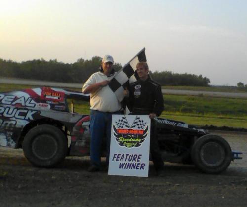 Scott Bintz wins at Thunder Moutain Speedway