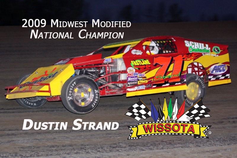 Dustin Strand 2009 Wissota National Champion