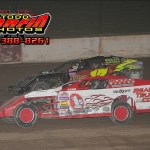 Racing from 21st to 3rd at I-94 Speedway