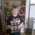 Casey Scott gets a Trophy