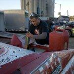 Shawn Checks the Fuel Level