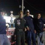 Chase, Scott, Tyler & Shawn - Jamestown Speedway
