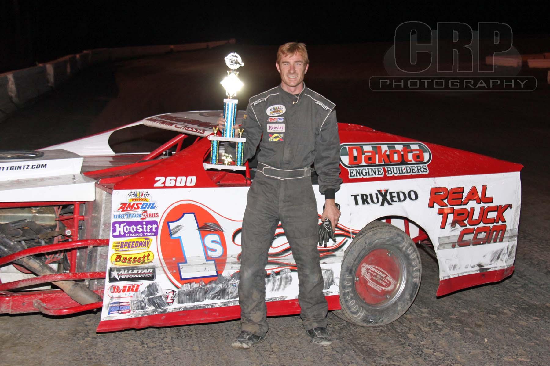 Feature Winner Jamestown Speedway
