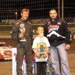 Trophy Presentation Jamestown Speedway
