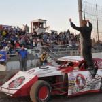 Sheyenne River Speedway Victory Dance