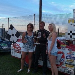 Victory Lane With the Pizza Ranch On Board