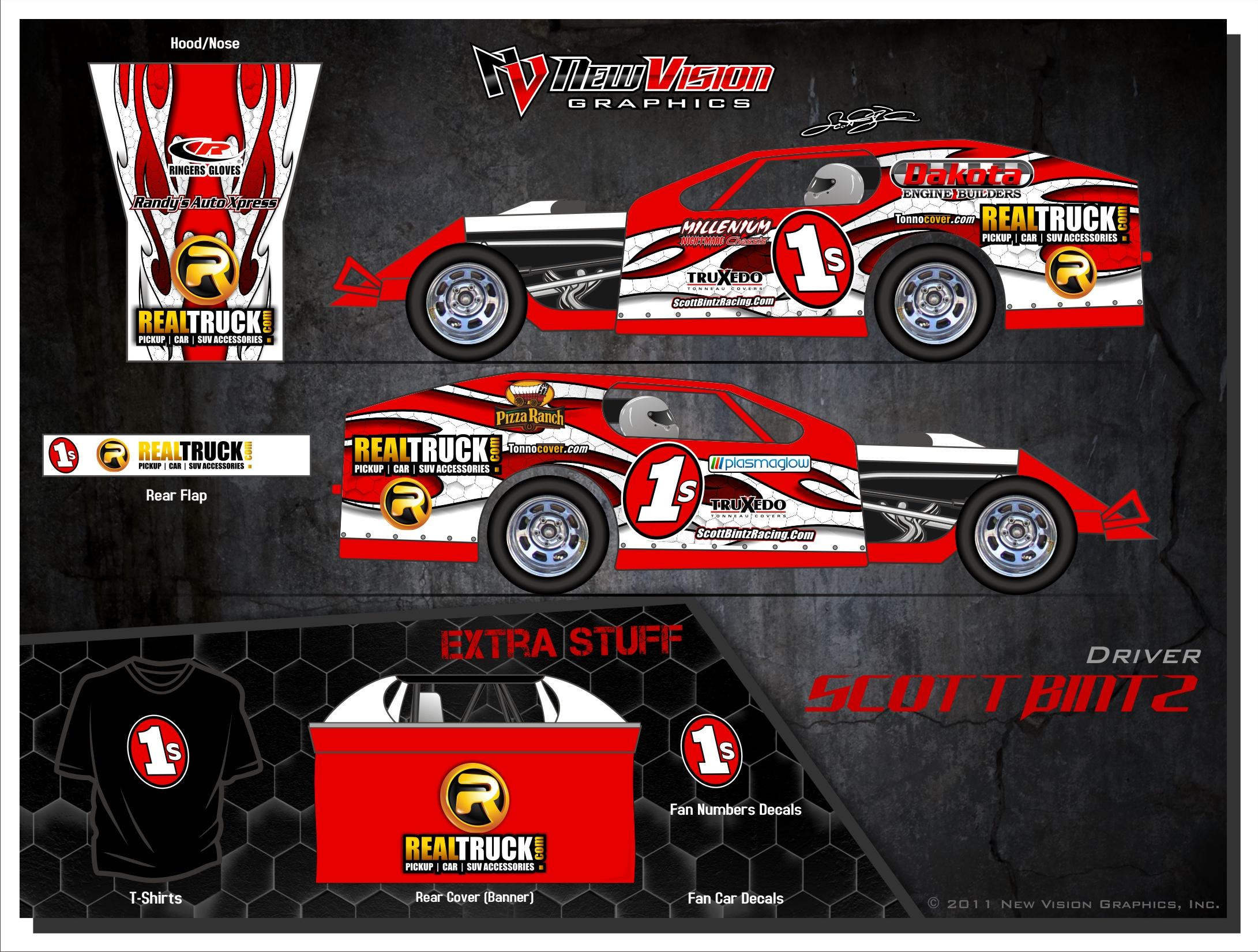 2011 Scott Bintz Race Car Design