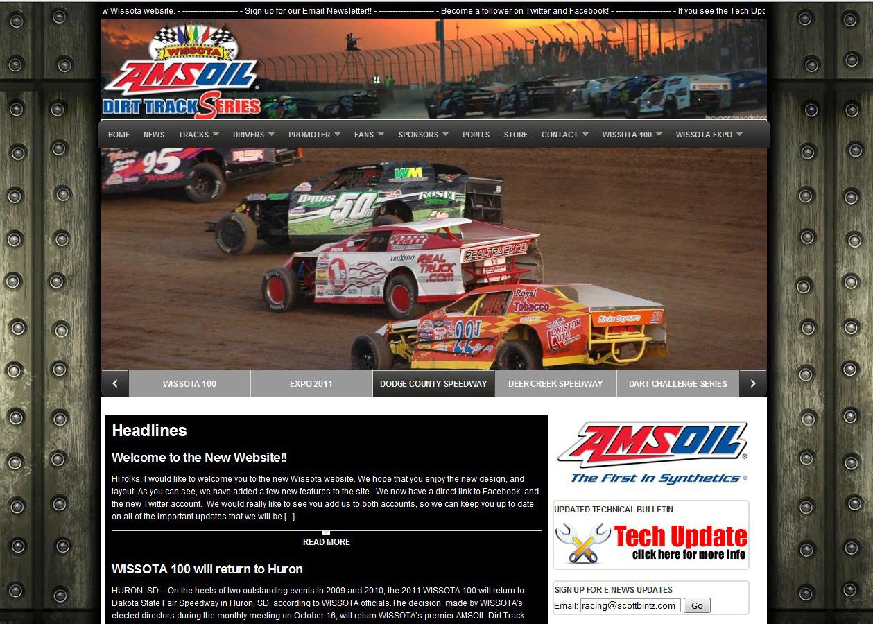 New Wissota Racing Website