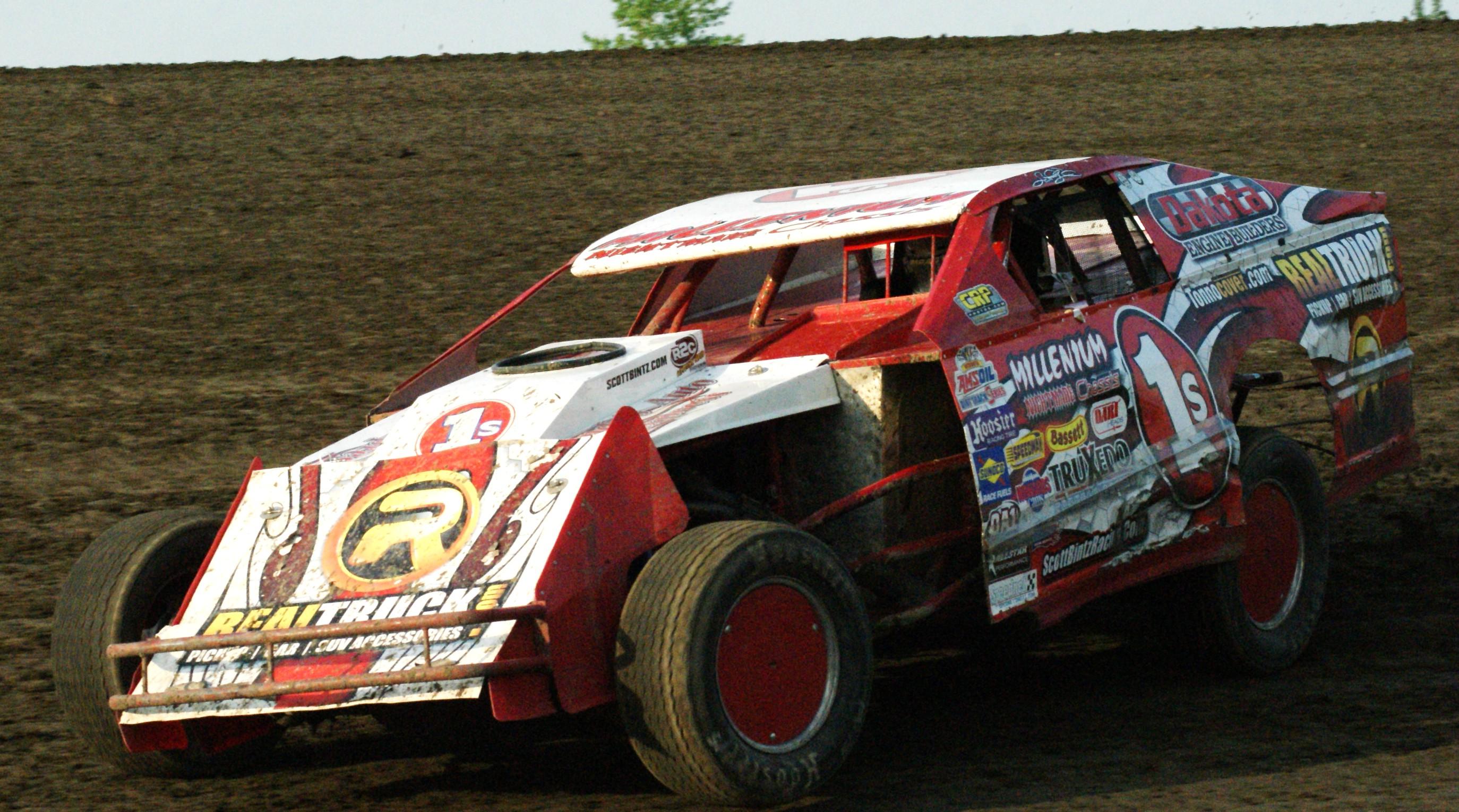At the Jamestown Speedway 6-4-11