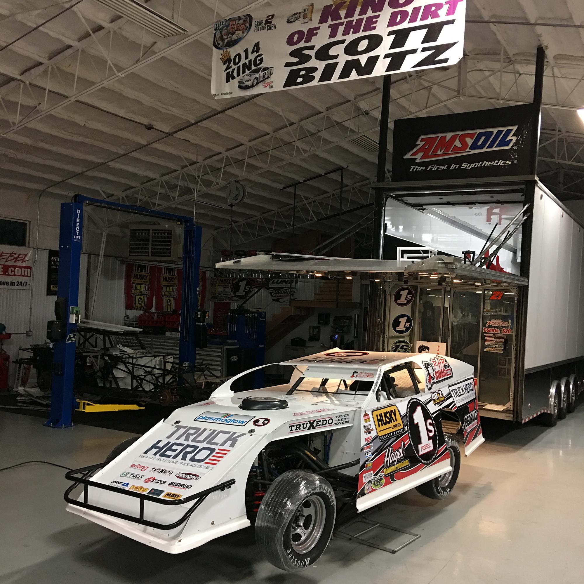 1s UMP Dirt Modified from Scott Bintz Racing