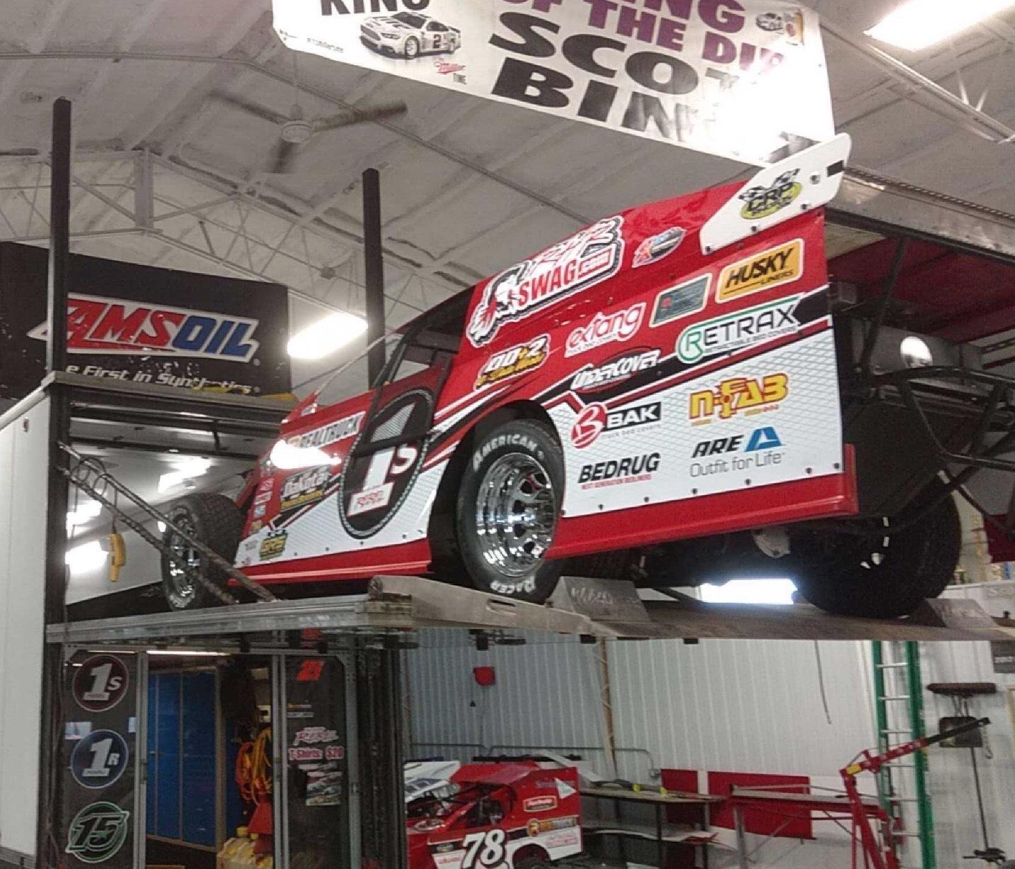 Travis Saurer '16 w/ 525 Crate Motor