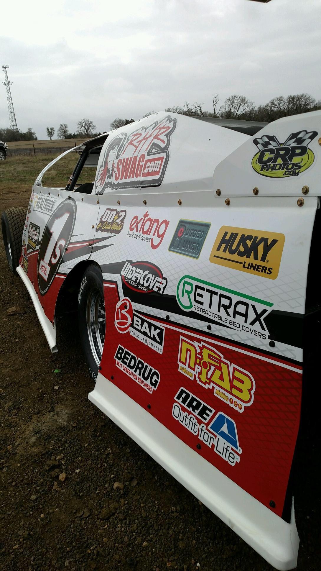 #1s SBR Dirt Mod Ready for Race Day