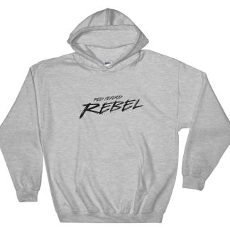 Red Headed Rebel Classic Sport Gray Hoodie