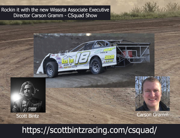 Cruising from Driver to Promoter to Assoc Exec. Director - Carson Gramm on CSquad